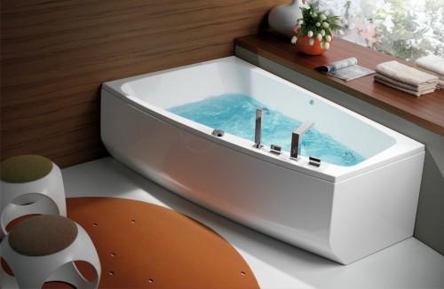 Ванны асимметричные: преимущества, недостатки, критерии выбора